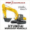 Thumbnail Hyundai Robex R290LC-9 Crawler Excavator. Full Workshop / Service manual. Robex R 290 LC - 9