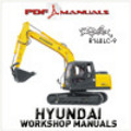 Thumbnail Hyundai Robex R140LC-9 Crawler Excavator.   Full Service / Workshop Manual. R 140 LC 9