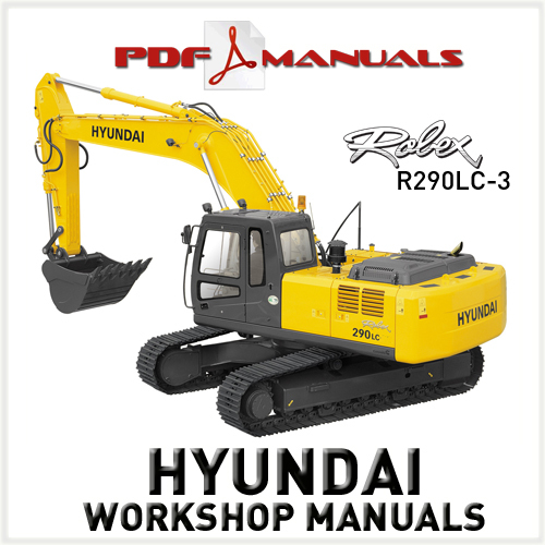 hyundai robex r290lc 3 crawler excavator full workshop service ma rh tradebit com Hyundai Excavator hyundai 290 lc-7 workshop manual