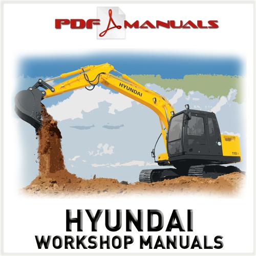 hyundai robex r110 7 crawler excavator full workshop service manu rh tradebit com Hyundai Excavator Hyundai Houston Katy