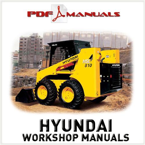 Free Hyundai Industrial HSL810 Skid Steer Loader Service / Workshop Manual. HSL 810 Download thumbnail