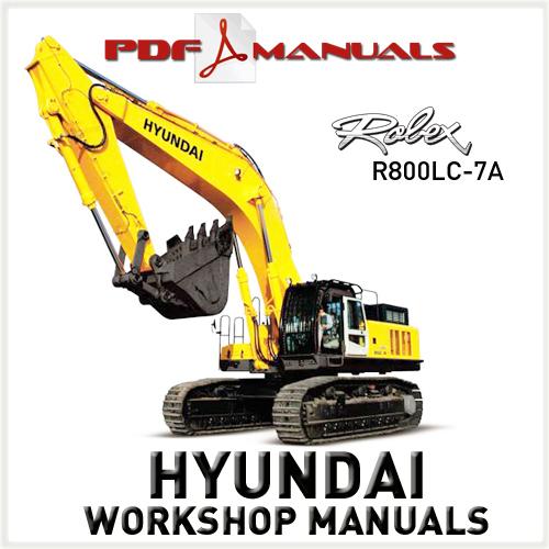 hyundai crawler mini excavator r 36n 7 operating manual