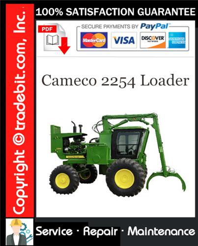 Thumbnail Cameco 2254 Loader Service Repair Manual Download ★