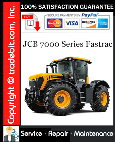 Thumbnail JCB 7000 Series Fastrac Service Repair Manual Download ★