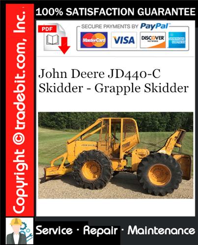 Thumbnail John Deere JD440-C Skidder - Grapple Skidder Service Repair Manual Download ★