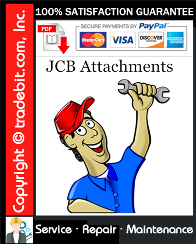 Thumbnail JCB Attachments Service Repair Manual Download ★