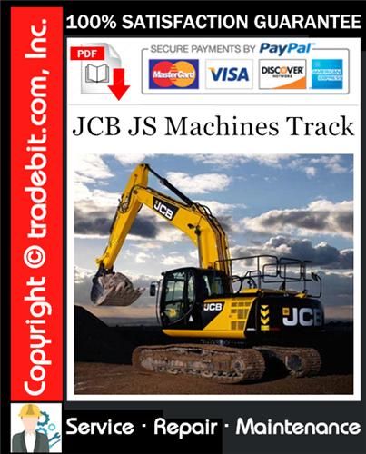 Thumbnail JCB JS Machines Track Service Repair Manual Download ★