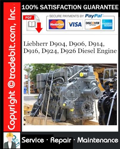 Download Diesel Engine Liebherr D906  Liebherr  Liebherr