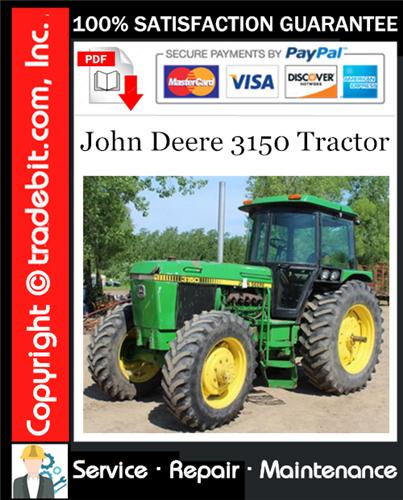 Thumbnail John Deere 3150 Tractor Service Repair Manual Download ★