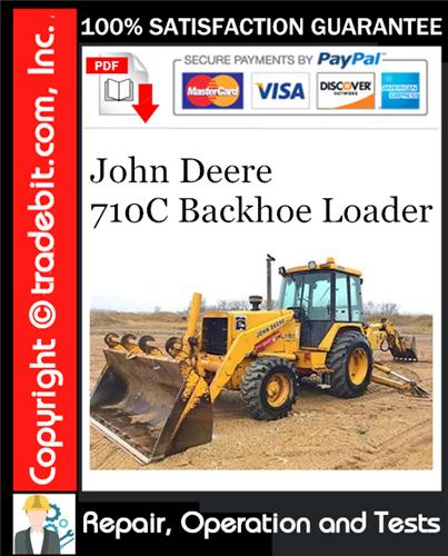 Thumbnail John Deere 710C Backhoe Loader Repair, Operation and Tests Technical Manual Download ★