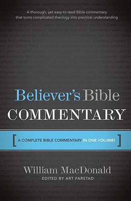 Pay for Believers Bible Commentary (one volume)