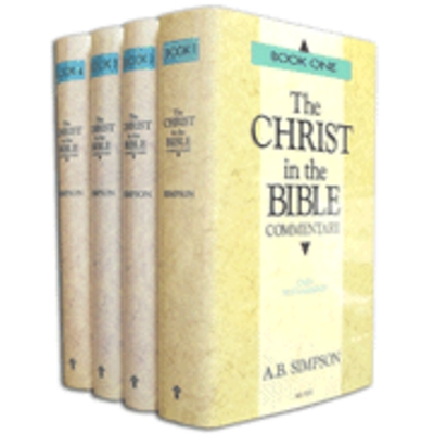 Pay for The Christ in the Bible by A.B. Simpson (4 vol.)