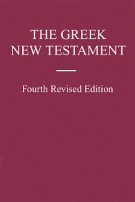 Pay for UBS The Greek New Testament: Fourth Revised Edition