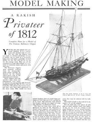 More Sailing boat model plans ~ Plans for boat