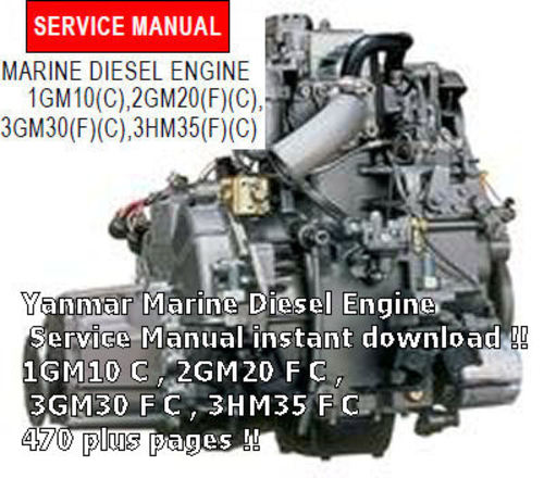 Yanmar 1gm10 2gm20 3gm30 3hm35 Marine Diesel Engine Manual Guide