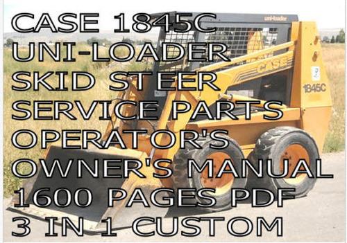 Case 1845 Operators Manual Pdf