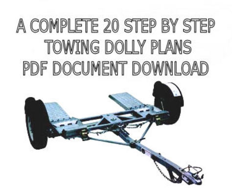 CAR HAULER TOWING DOLLY PLANS PDF DOWNLOAD