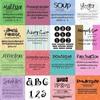 Thumbnail EXCLUSIVE 200+ Scrap Fonts Various Designers - DOWNLOAD NOW