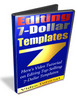 Thumbnail VIDEO TUTORIAL - EDITING 7 DOLLAR TEMPLATES with PLR+ MRR Rights!