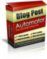 Thumbnail *NEW!* Blog Post Automator - One Click Blog Posting Tool - with Master Reale Rights (MRR) - (128 MB) Download !