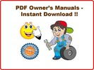 Thumbnail YAMAHA GRIZZLY ATV 450 4x4 OWNERS MANUAL YFM45FGW - PDF DOWNLOAD !!