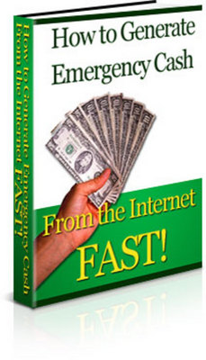 Pay for *NEW!* How To Generate Emergency Cash From The Internet Fast With Private Label Rights (PLR)