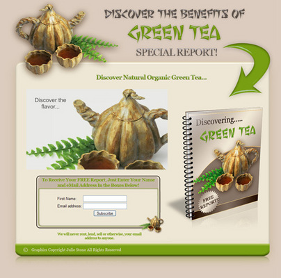 Green Tea With Resale Rights – 32047276