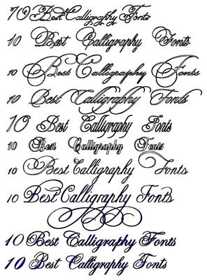 cursive font maker