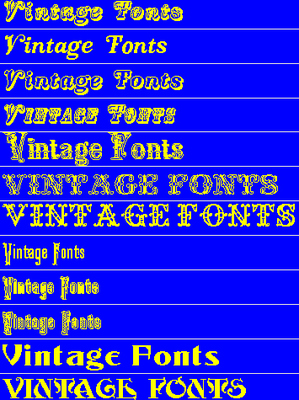 Pay for DOWNLOAD NOW ! 41 Vintage Fonts Collection
