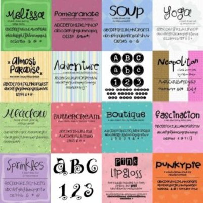 Pay for EXCLUSIVE 200+ Scrap Fonts Various Designers - DOWNLOAD NOW