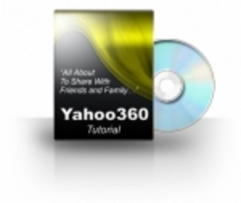 Pay for *New*! Yahoo! 360 VIDEO TUTORIAL With PLR + MRR Rights !
