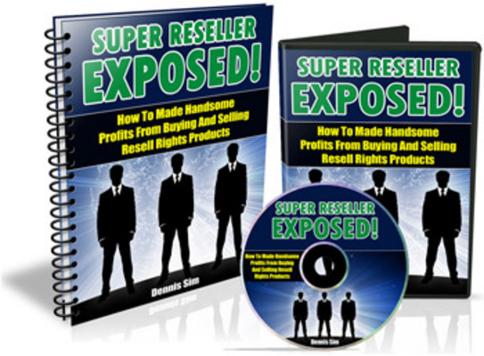 New SUPER RESELLER EXPOSED!! AUDIO(MP3) + EBOOK(PDF) with Master ReSell Rights – 8594438