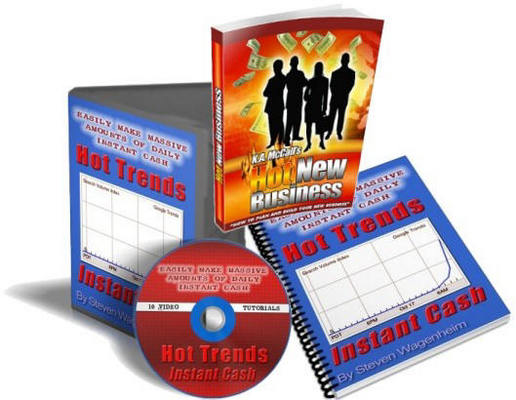 Pay for *New!* GOOGLE HOT TRENDS INSTANT CASH 10 VIDEOS + EBOOK with MRR DOWNLOAD !!