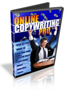 Pay for HOW TO BECOME AN ONLINE COPYWRITING PRO - VIDEO COURSE(9 Videos) - Master Resell Rights !