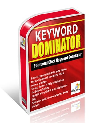 Pay for *NEW* Keyword Dominator Software with Master Resale Rights !
