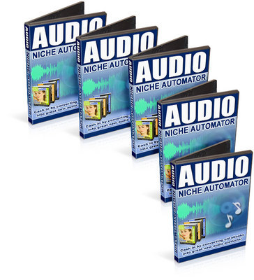 Pay for *NEW*! Audio Niche Automator Cash In By Converting Old Ebooks Into Great New Audio Products  - * Master Resell Rights * - Download (90 MB) !!