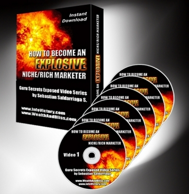Pay for *NEW!* HOW TO BECOME A EXPLOSIVE NICHE RICH MARKETER - VIDEO SERIES(6 Videos) - Master Resale Rights (MRR) !!