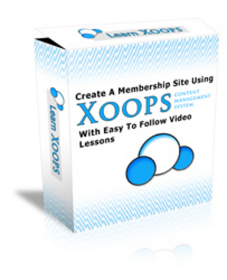Pay for *NEW!* Create A Membership Site Using Xoops - Video Series (180+ MB / 5+ Videos) - Download Now !!
