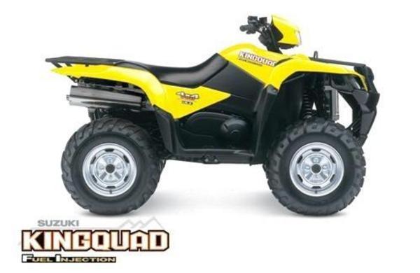 2005 2006 2007 Suzuki King Quad Atv Lt