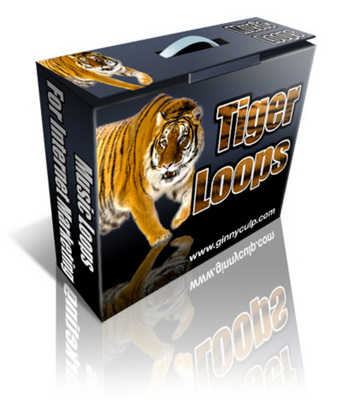 Pay for TIGER LOOPS(20 MP3,AIF Loops) with Resell Rights!