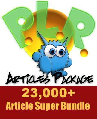 Pay for Over 23,000 Article Super Bundle with Private Label Rights!!