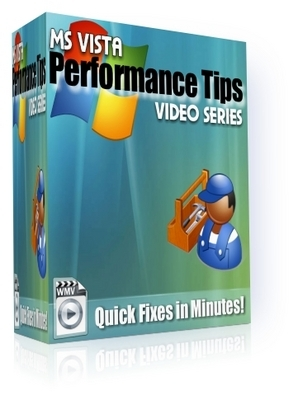 Pay for *NEW!* MS Vista Performance Tips Video Series(4 Videos)! - With Private Label Rights