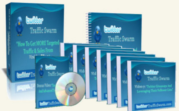 Pay for *NEW!* Twitter Traffic Swarm - Get More Free Targeted Traffic From Twitter - Video Series(7 Videos) with Master Resale Rights(MRR) !!