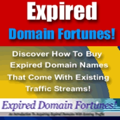 Pay for *NEW!* Expired Domain Fortunes with Existing Traffic Streams - Master Resell Rights (MRR) !!