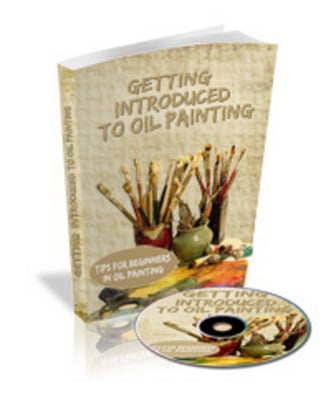 Getting Introduced to Oil Painting - Ebook & Audio Book - with Master Resale Rights (MRR) - DOWNLOAD !!