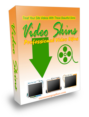 NEW VIDEO SKINS PACKAGE – Give Your Site A Sophisticated Look With These Great Video Skins DOWNLOAD – 96049366
