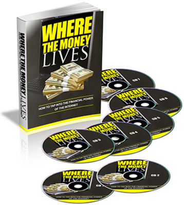 *NEW!* Where The Money Lives (Plr) + 3 PLR Bonuses & More! - with Private Label Rights - DOWNLOAD !!