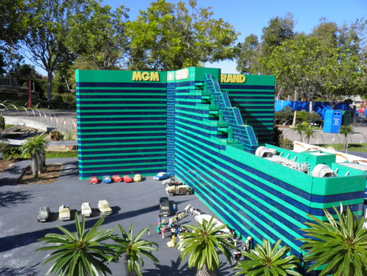 Pay for The MGM casino made from legos at LEGOLAND