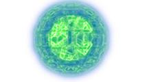 Thumbnail Abstract Green Globe