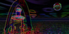 Thumbnail Psychedelic Alien Tower